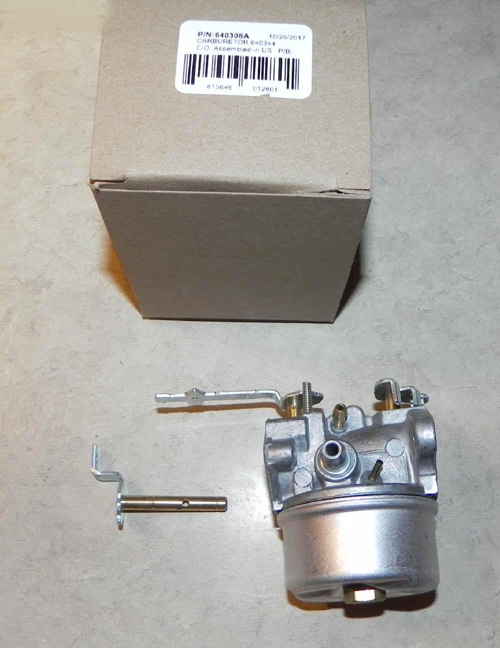 Craftsman Snowblower Carburetor Diagram