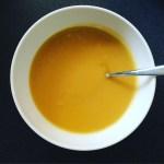Autumn comfort eating – Instant Pot Butternut squash soup