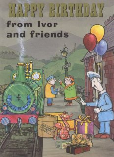 Ivor The Engine Greetings Cards