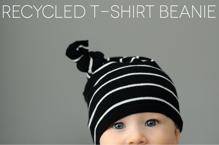 tutorial, recycled beanie, DIY, sewing, kids, fashion