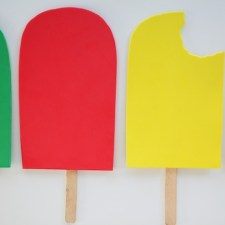 Oversized Foam Popsicle Prop