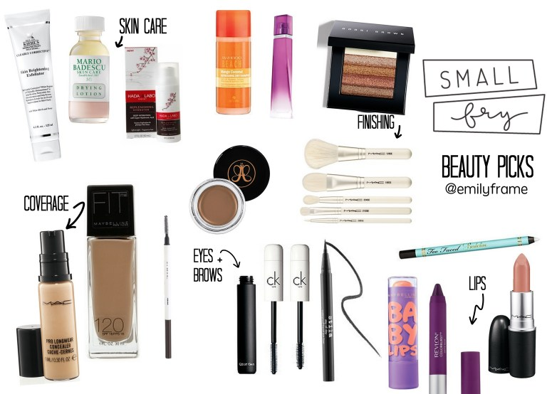 Small Fry Beauty Routine
