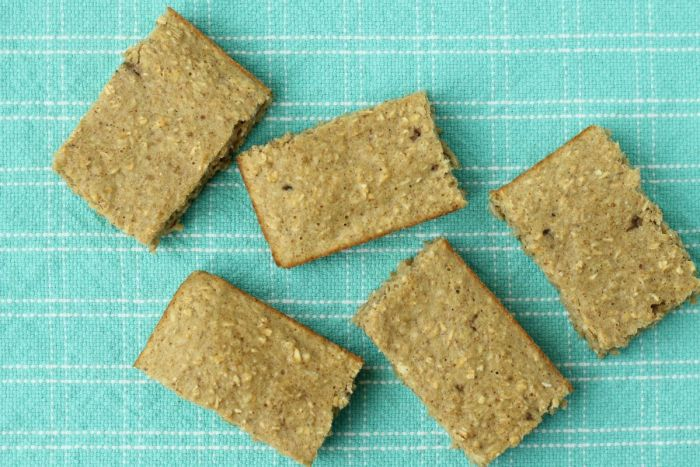 Make Ahead Banana Oatmeal Bars