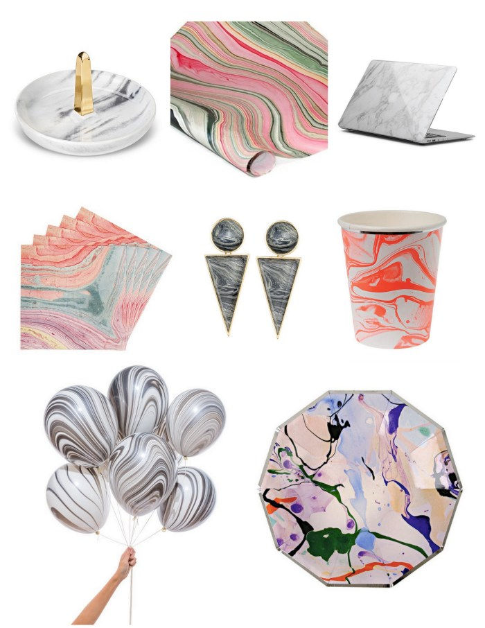 Marbled Goods around the Web