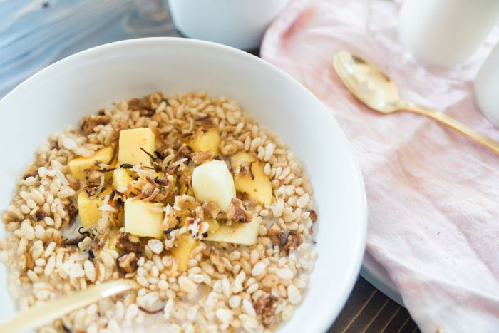Mangoes and Sticky Rice Cereal