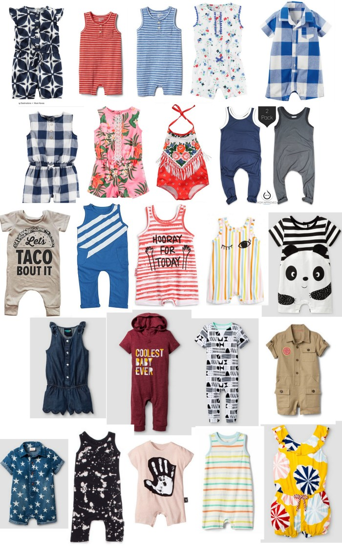 30+ rompers around the web