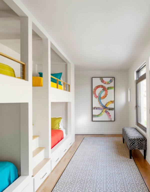 15 Modern Built-In Beds For Kids