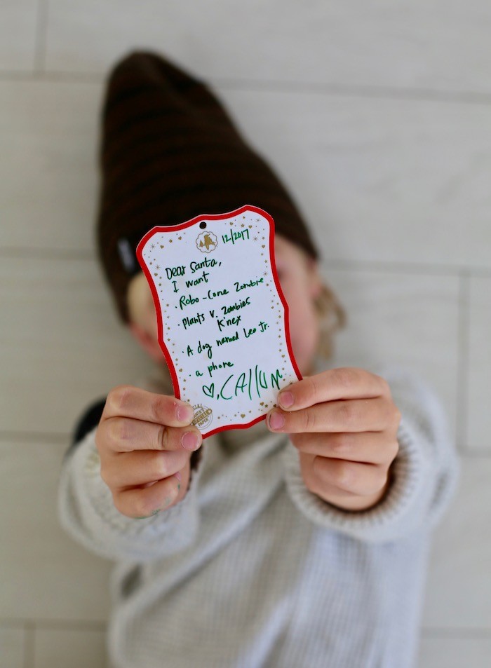 Letters to Santa - Shrunk down to an ornament!