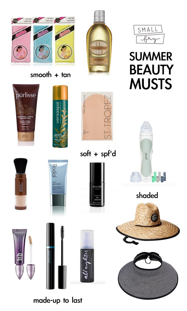 Summer Beauty Musts