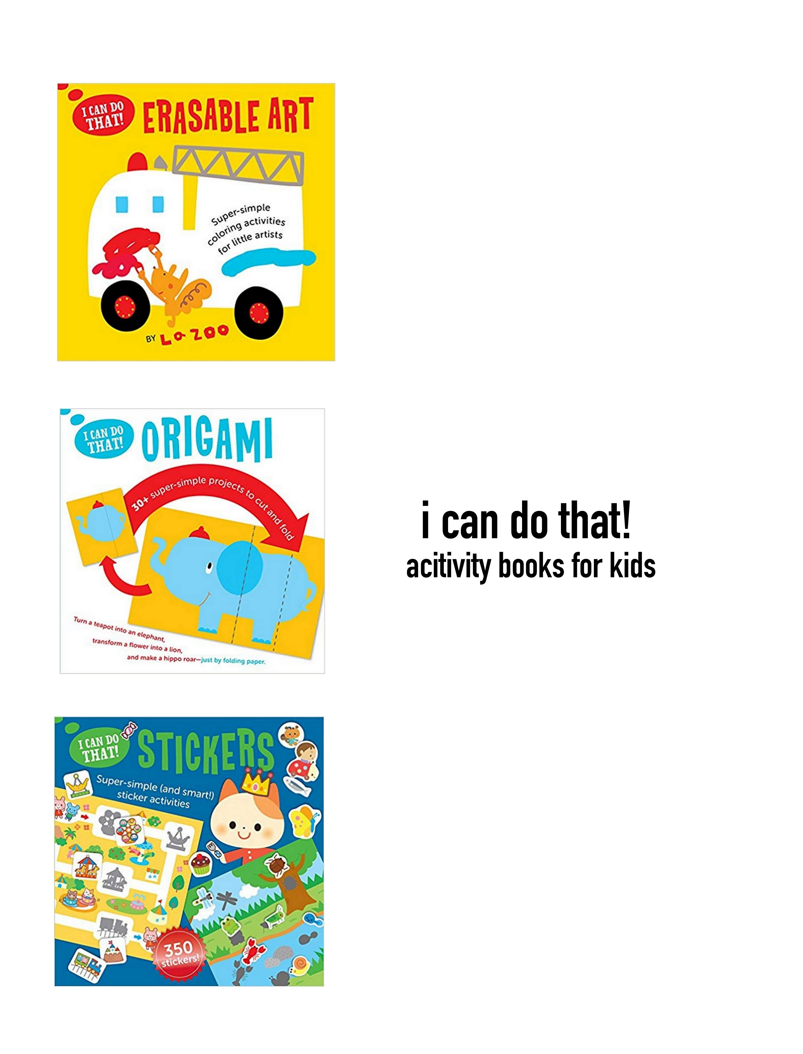 Activity Books for Kids!