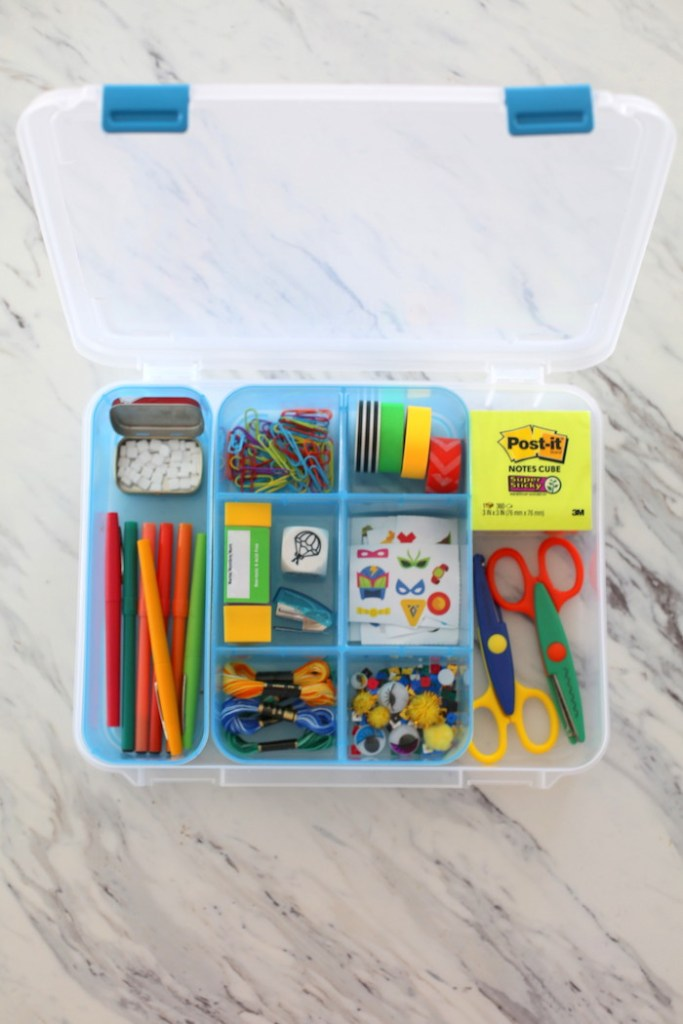 Quiet Time Box DIY