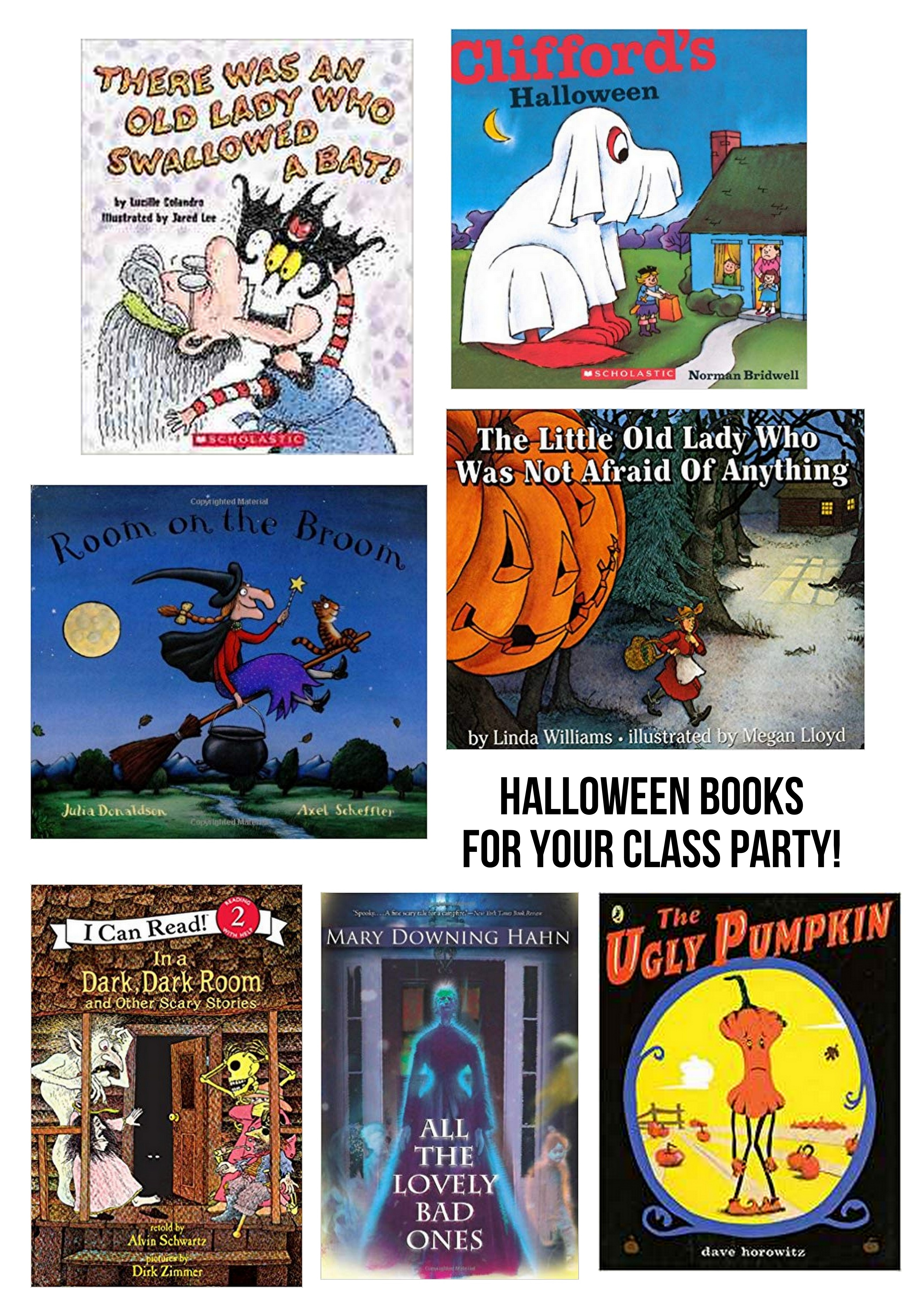 Halloween Class Party Reads