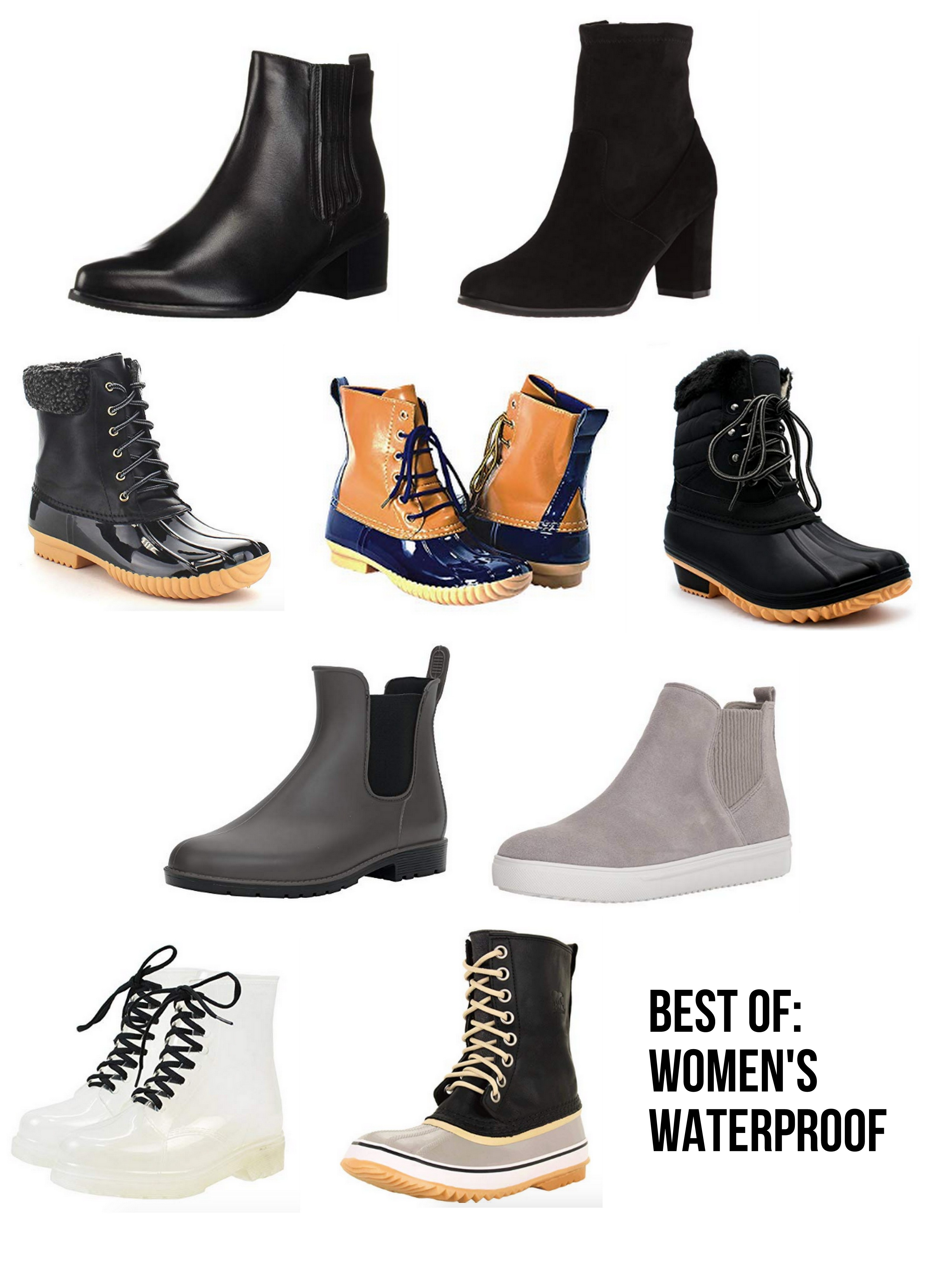 womens waterproof boots