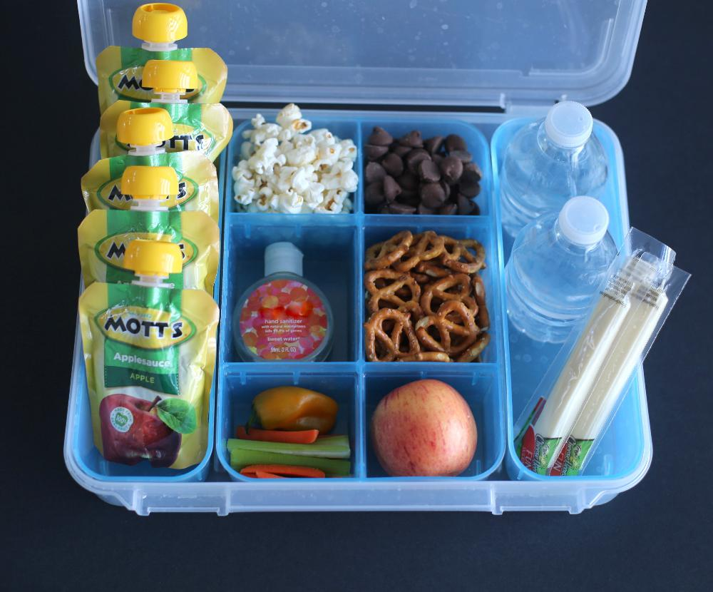 On-the-go Snack Tray