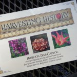 Catalog cover, 2017 issue of Harvesting History