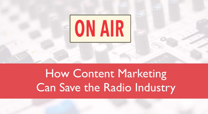 Content Marketing for Radio