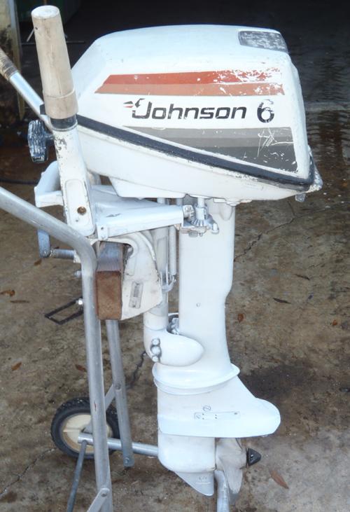 Used 6 Hp Johnson Outboard Motor Johnson Evinrude Boat Motors