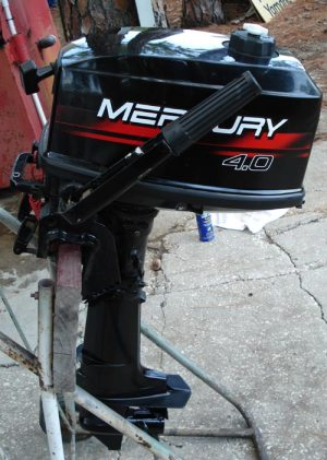 Used Mercury 4 hp Outboard Mercury Outboards 1999 4 hp