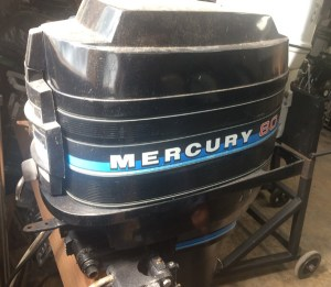 80 hp Mercury Outboard Boat Motor For Sale