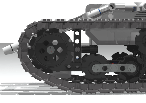 Ev3 Tracked Explor3r, an autonomous tracked vehicle with Ev3Dev ...