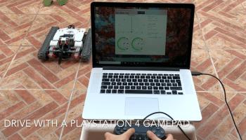 Remote control app for the Ev3 Tracked Explorer - Smallrobots it
