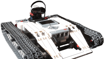 Ev3 Tracked Explor3r, an autonomous tracked vehicle with
