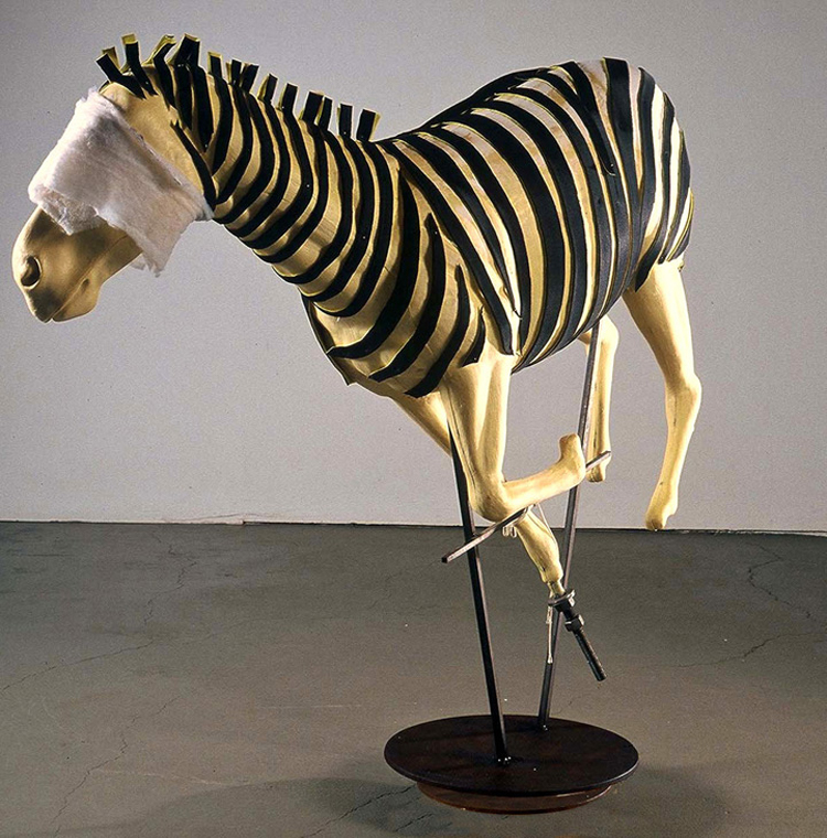 (above) Frances Bagley, 'Zebra'