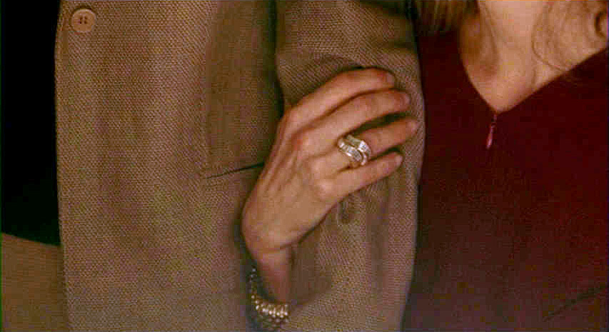 (above) It's all about the ring.