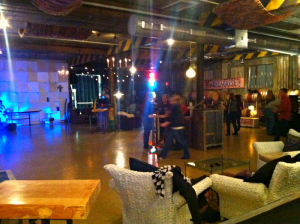 Inside the Warehouse Winery. This is the main room that featured live music on 11/11/15