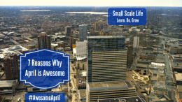 7 Reasons Why April is Awesome; blogpost; Minneapolis; Minnesota