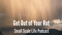 Podcast; Get out of your rut; Colorado Springs; Colorado; rain; mountains; mindset