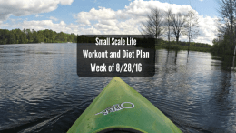 Workout Plan; Diet Plan; Weekly Plan; Spin Class; Cycling Swimming; Weightlifting; Elliptical Trainer; Kayak; Kayaking; Active Lifestyle; Fitness