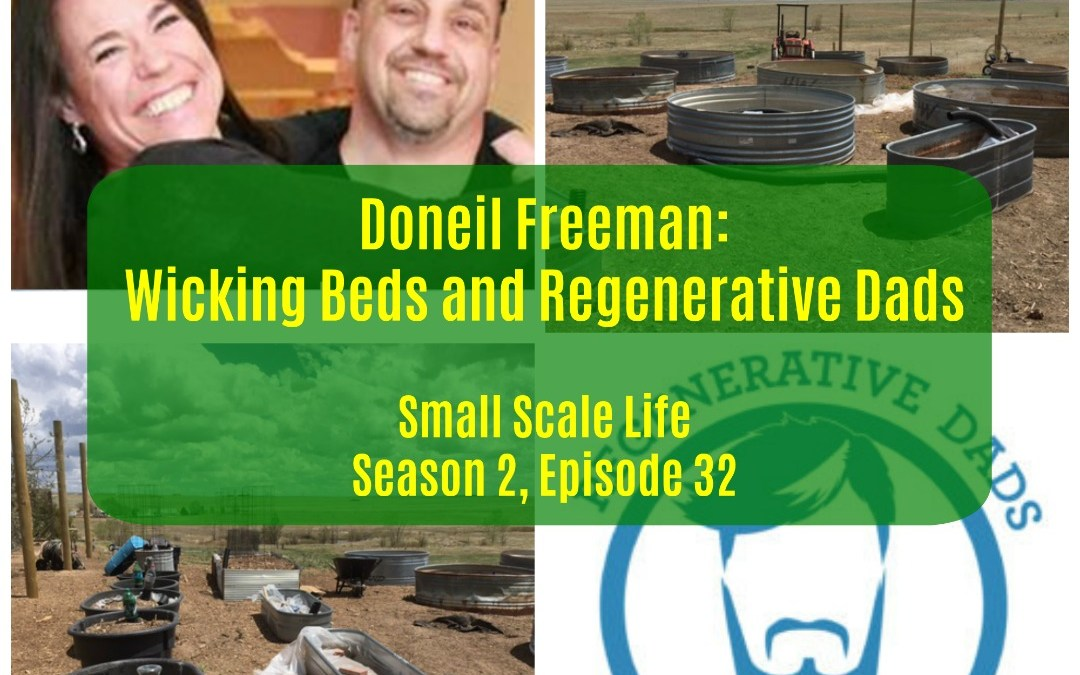 Regenerative Agriculture; homesteading; permaculture; bees; beekeeping; small business; CSA; podcast; Small Scale Life; Regenerative Dads Podcast