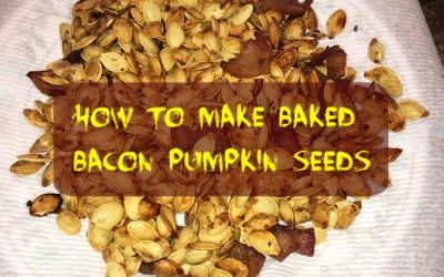 How to Make Baked Bacon Pumpkin Seeds