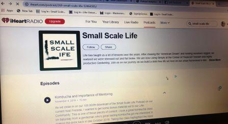 IHeartRadio; Small Scale Life Podcast