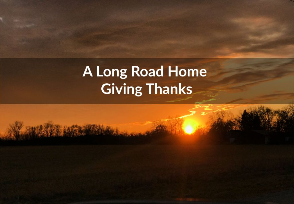 Giving Thanks, Sunset in Fond du Lac, Wisconsin sunset, building community