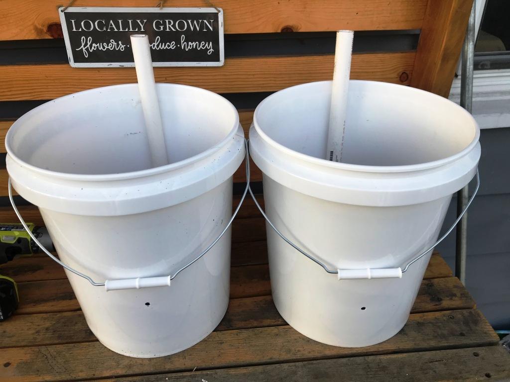 Self Watering Planter, 5 gallon Container Garden, Container Garden, Raised Bed Garden Ideas