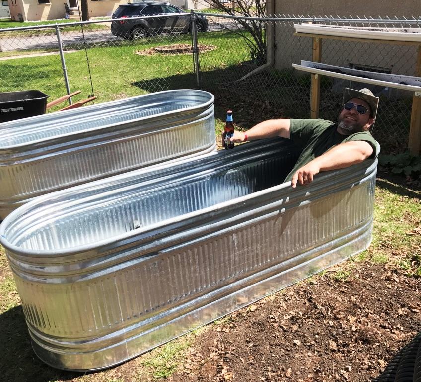 Greenman, Wicking Beds, Raised Bed Garden Ideas