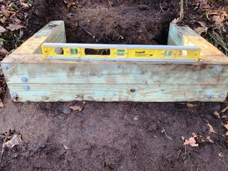 In a hole? Stop Digging! 5 Lessons Learned from Our Stair Project Failure; Homesteading; Mindset; U stair from 4x4 posts