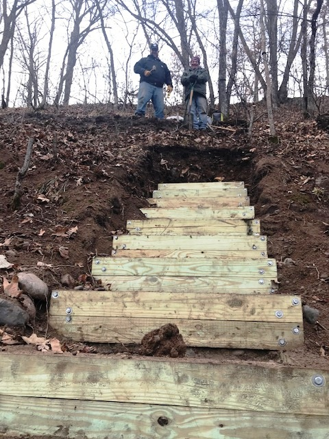 Tom and Dan; In a hole? Stop Digging! 5 Lessons Learned from Our Stair Project Failure; Homesteading; Mindset