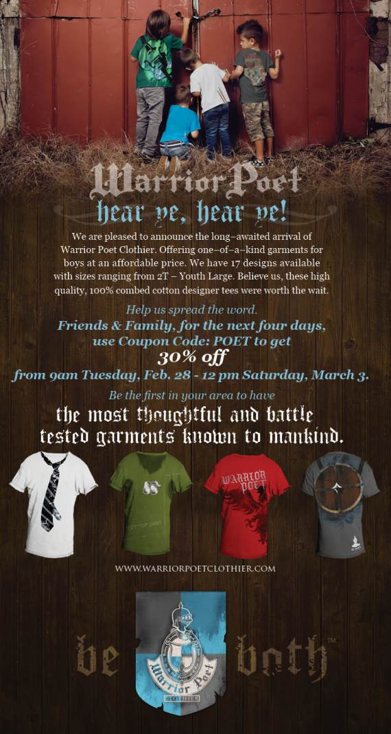 Warrior Poet Launch