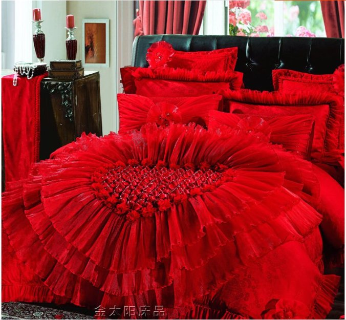 taobao red bedding 1