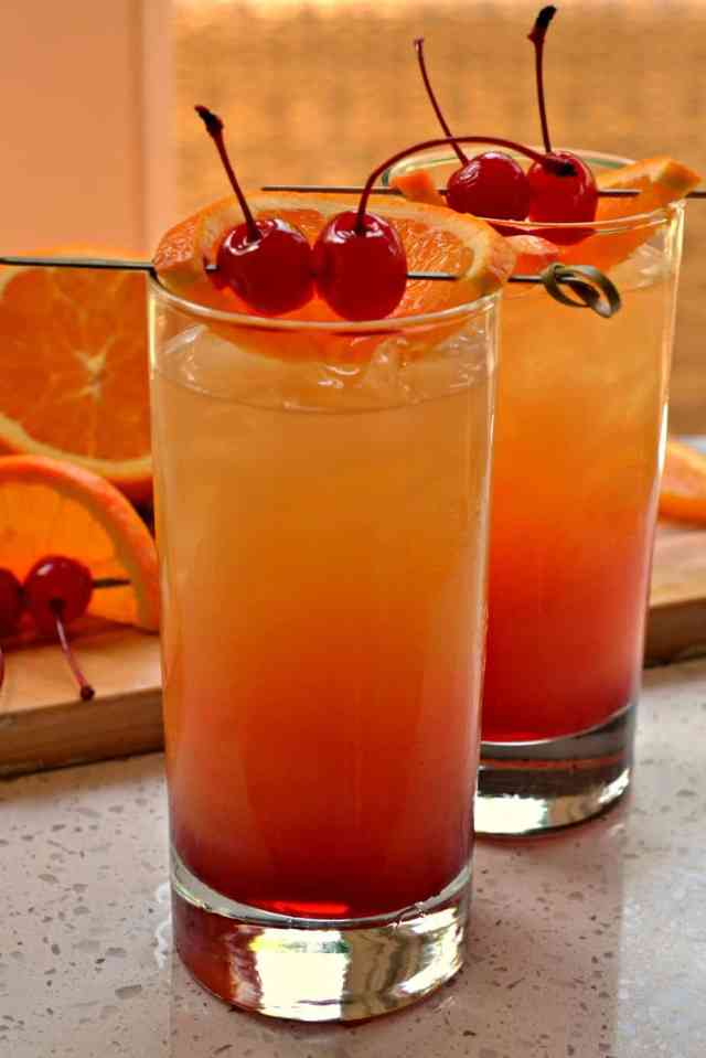 25-Ingredient Tequila Sunrise Cocktail  Small Town Woman