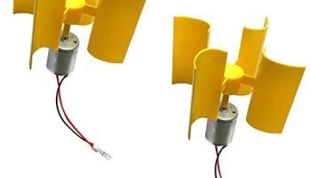 Keproving Mini Vertical Axis Type Wind Turbine Generator Model for