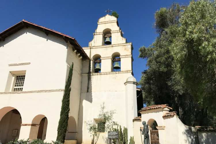 The Complete California Missions List