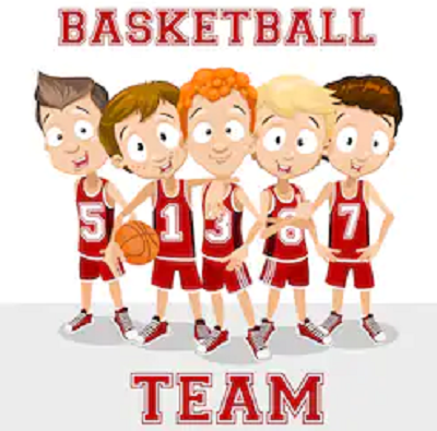 Team Bola Basket Dan Futsal