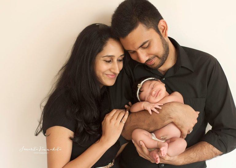 Image result for newborn indian family