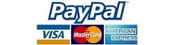 信用咭或PayPal 付款