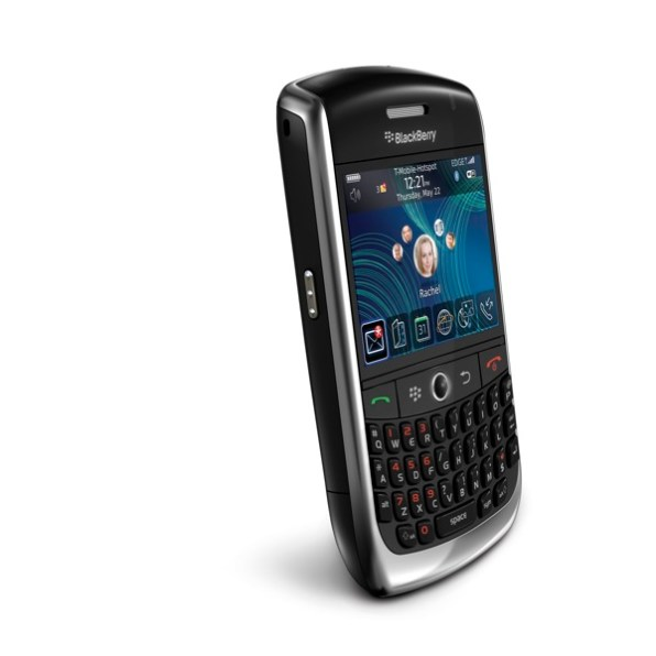 BlackBerry Curve 8900 izquierda