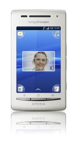Sony_Ericsson_Xperia_X8_White_Front2